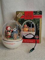 Hallmark Keepsake 1990 Ornament Mrs. Santa's Kitchen Magic Light Motion with Box