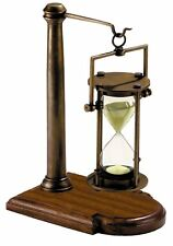 G527: grandi nobile glasenuhr, 30 minuti ore vetro in kardanischem treppiede