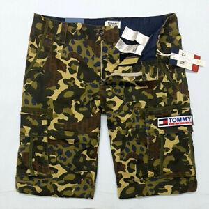 Tommy Jeans Tjm Camouflage Cargo Shorts Hommes Bermudas Shorts Cargo Pantacourt