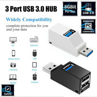 USB Multi Port Adapter High Speed 3.0 Hub Multiple Splitter & OTG For PC Laptop