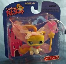 Littlest Pet Shop Target exclusive retired fairy princess kitty cat w/ wings+