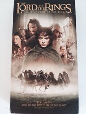The lord Of The rings VHS