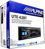 Alpine UTE-62BT In-Dash FM/MP3/USB/Bluetooth Car Stereo Digital Media Receiver