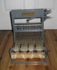 "Vintage Antique Structo Artcraft 8"" Loom 4 shaft Tabletop Weaving Loom Rare Nice"