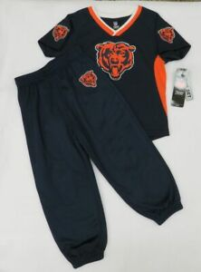 NFL Chicago Bears Infant Boy's Navy Top and Pants Size 12 M