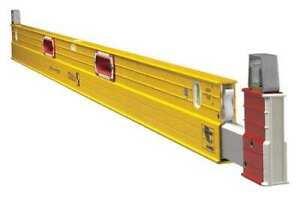 Stabila 35712 Plate Level,7 To 12 Ft.,Aluminum