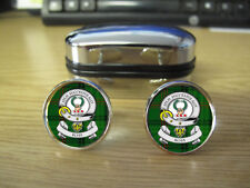 ROSS CLAN CUFFLINKS (IMAGE DISTORTED TO PREVENT INTERNET THEFT)