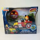 Disney Junior Mickey Mouse Roadster Racers RC Car Age 3+ Radio Control 98038 New