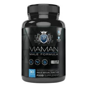 Viaman Kapseln - Potenzmittel für Männer - Potenz Erektionshilfe - 90 Stück