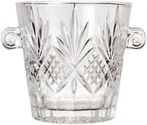 Shannon Crystal By Godinger Barware Aberdeen Crystal Ice Bucket