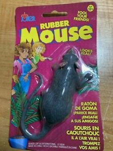 Rubber Mouse - Startle That Special Person With This Fake Mouse! - Very Lifelike