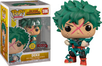 Deku Full Cowl Glow GITD Funko Pop Vinyl New in Box