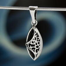 Onyx Silver 925 Pendant Sterling Silver Ladies Jewellery A507