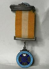 More details for 1956 knights of st columba fraternal catholic society  medal hallmarked silver