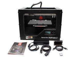 Makerbot Replicator 2 FDM 3D Printer Used