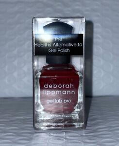 Deborah Lippmann Nail Polish Gel Lab Pro LADY IS A TRAMP .5oz New In Box As Pic