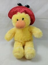 Mary Meyer Plush Duck Silly Slickers Lady Bug Hat, missing coat & boots