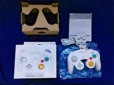 Official Nintendo GameCube White Controller Complete Boxed Manual GCN US Seller