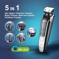 Pro Waterproof Rechargeable Electric Hair Clipper Shaver Trimmer Razor Beard