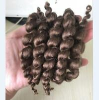 Mohair for Reborn Baby Doll Supplies Premium Curly Brown Baby DIY Hair Kits 15g