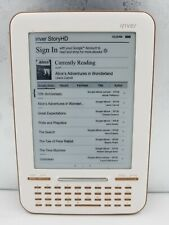 IRIVER Story HD E-Reader Tested Works. Color - White 2 GB