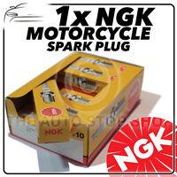 1x NGK Bougie D'Allumage pour Peugeot 50cc Squab (Air Cooled) 96- >97 No.4122