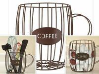 Coffee Pod Holder K Cup Storage Rack Keurig Capsule Cups Display Stand