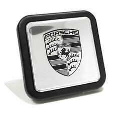 Porsche Cayenne Silver Tow Hitch Cover