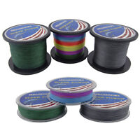 Super Strong Braided PE Fishing Line 10LB-133LB 110 Yards-1100 Yards