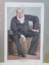 Vintage Print,STATESMEN,#90,George Bentinck,MP,1870