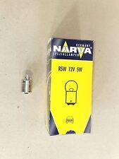 10 Stück Narva Glühlampe Glühbirne Kugellampe  12V 5W BA15s  B40240a