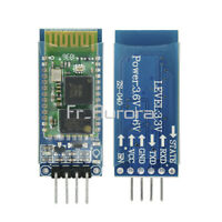 HC-06 RS232 4 Pin Wireless Serial Bluetooth RF Transceiver Module With Backplane