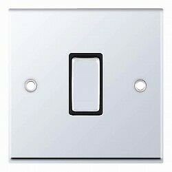 Selectric 7MPRO Contempry Sockets and Fittings Polished Chrome Black Insert