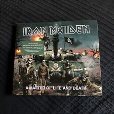 IRON MAIDEN -  A MATTER OF LIFE AND DEATH LIMITED SLIPCASE CD + DVD heavy metal