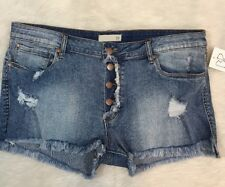 "BP Jean Shorts Distressed Cut Off Womens Size 32"" NWT Retail $49"