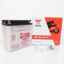 Batterie Yuasa pour Moto Cagiva 125 Roadster 1996 à 1999 YB9-B / 12V 9Ah Neuf