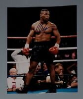 Iron Mike Tyson Auto Heavyweight Boxing Signed 11X14 Photo Authentic Autograph