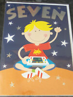 Boys 7th Birthday Card by Selective cards. 28 available.