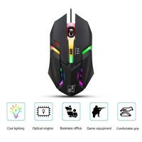 Optical USB Wired Colorful Backlight Gaming Mouse Gamer Laptop PC Computer Mice