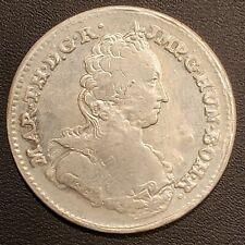 1754 Austrian Netherlands Silver Maria Theresa 1/2 Ducaton  !  FREE SHIPPING!