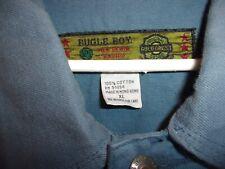 Bugle Boy Light Blue Jean Jacket XL