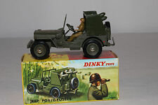 1960's French Dinky #828 Rocket Carrier Jeep, Nice with Original Box, Lot #4