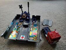Vintage Hasbro Takara - Pre Rub Transformers G1 Optimus Prime Metal Plates