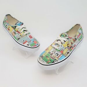 Vans Kids Peanuts Comic By Schulz Fashion Athletic Casual Shoes Size US 3 721356
