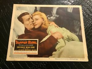 1956 MOVIE LOBBY CARD #4-2354 TEENAGE REBEL - GINGER ROGERS