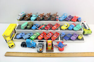 Lot of 36 - Disney Pixar Cars Diecast & Plastic- McQueen~Mater~Sarge