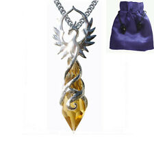 NEW PHOENIX FLAME PENDANT NECKLACE Pendulum Crystal Keepers by Anne Stokes