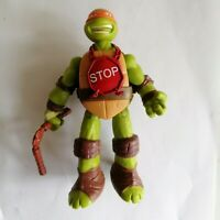 "2014 Michelangelo Viacom TEENAGE MUTANT NINJA TURTLES 6"" TALKING FIGURE"