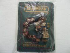 1995 Boyds Bear Bearwear Grace Born to Shop Pin