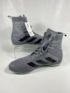 NEW Mens Adidas Speedex 18 Size 11 Grey Boxing Boots Shoes EG1033